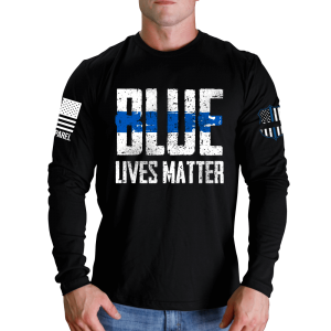 Nine Line - Blue Lives Matter L S T-Shirt  76391107db9d